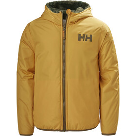 Helly Hansen Champ Reversible Jacket Kids, golden glow